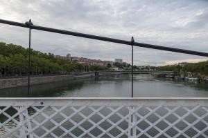 Lyon. Van La Croix-Rousse naar de Rhone