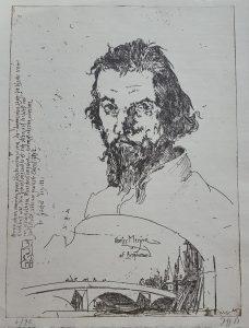 Portret Charles Méryon Van Horst Janssen